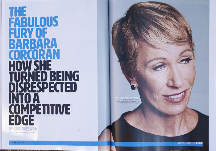 Inc. magazine, Nov. 2016 2