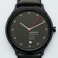 Mondaine Helvetica Erik Spiekermann Collection