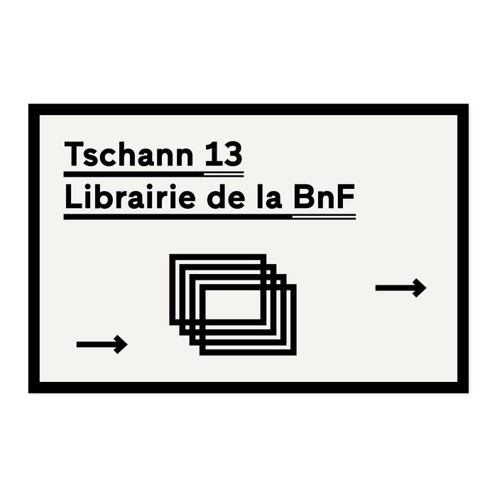Tschann 13, Librairie de la BnF 1