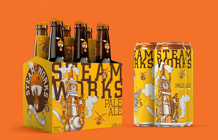 Steamworks beer 5