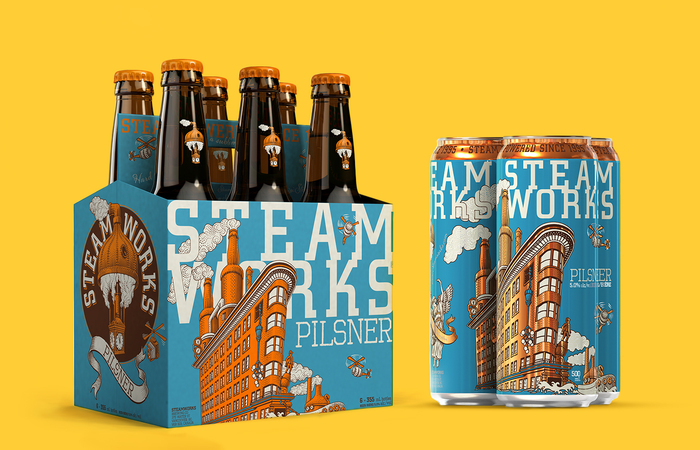 Steamworks beer 7