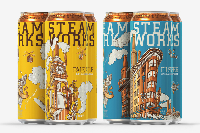 Steamworks beer 9