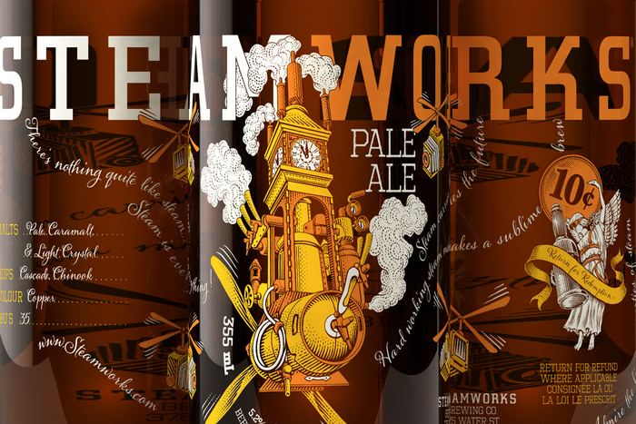 Steamworks beer 10