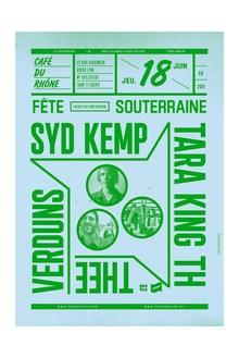La Souterraine poster series