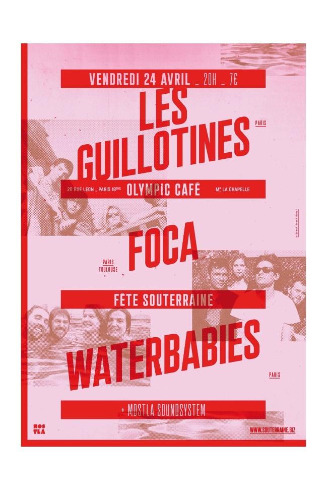 La Souterraine poster series 4