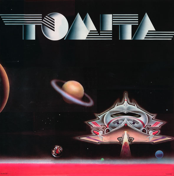 Isao Tomita The Planets The Tomita Planets Fonts In Use