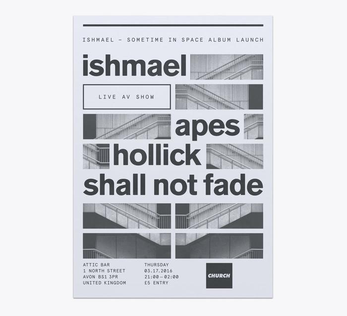 Church: techno label posters 1