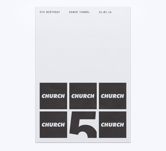 Church: techno label posters 2