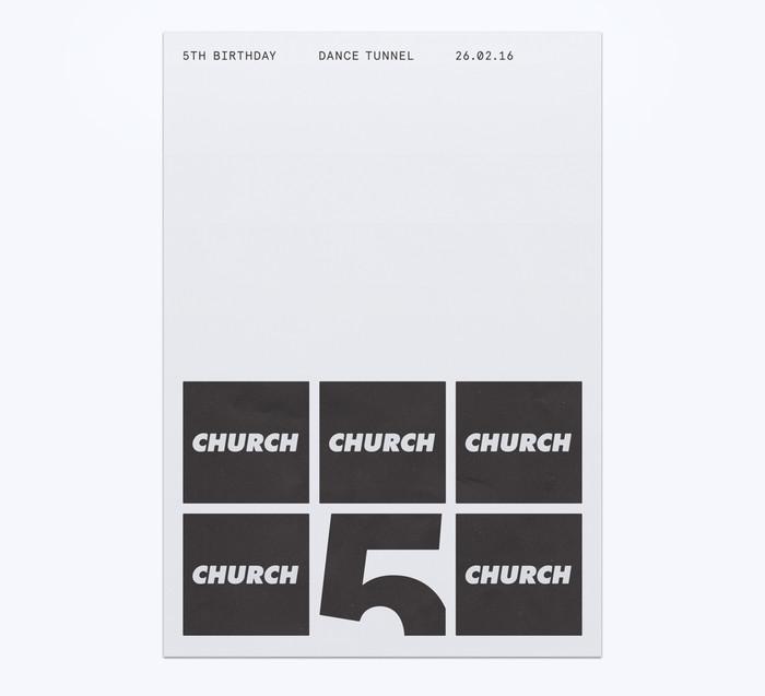Church: techno label posters 2