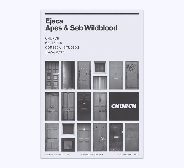 Church: techno label posters 3