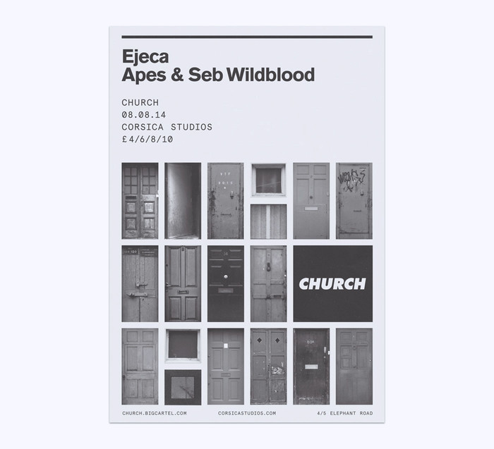 Church: techno label posters 3