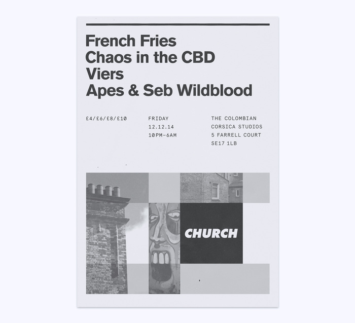 Church: techno label posters 4