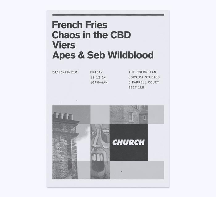 Church: techno label posters 4