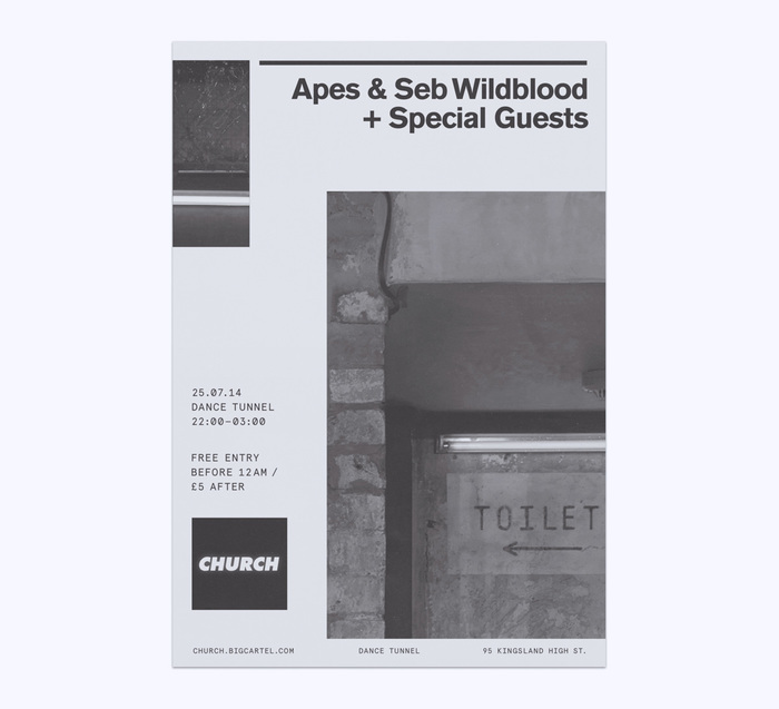 Church: techno label posters 9