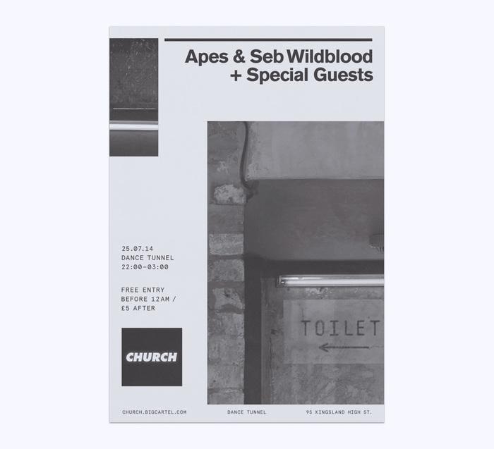 Church: techno label posters 9