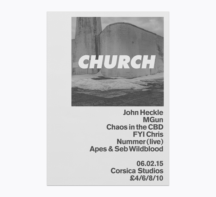 Church: techno label posters 12