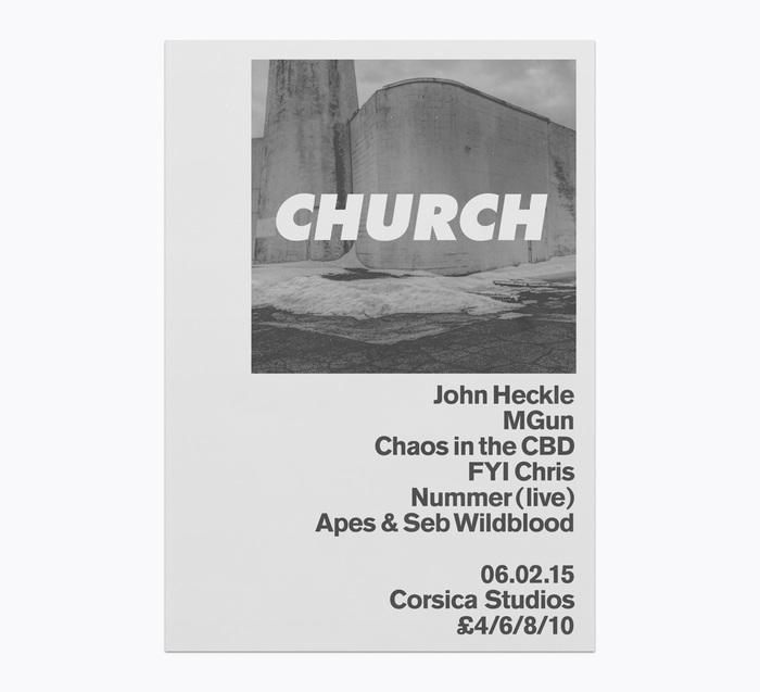 Church: techno label posters 12