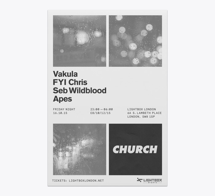 Church: techno label posters 11