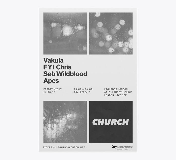Church: techno label posters 11