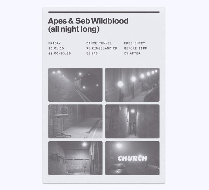 Church: techno label posters 8