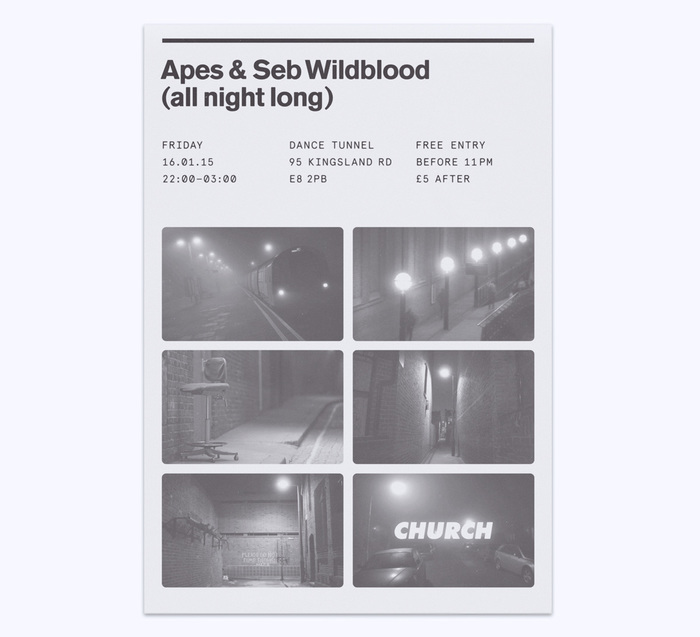 Church: techno label posters 8