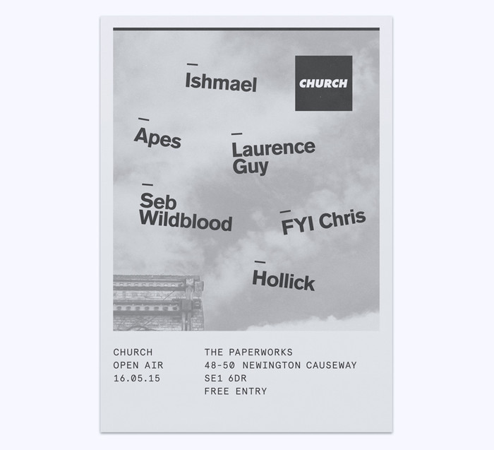 Church: techno label posters 7
