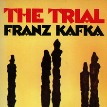 <cite>The Trial</cite> by Franz Kafka, Vintage Books