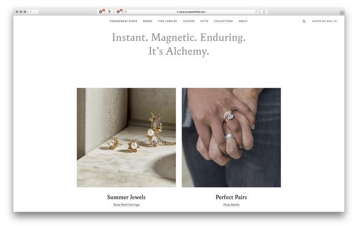 Anna Sheffield website and blog 3
