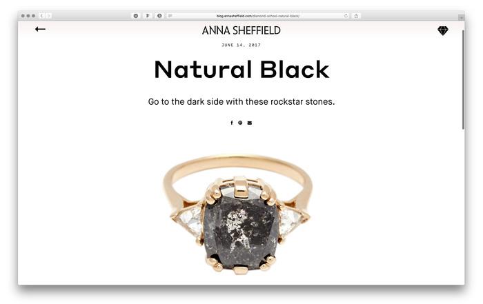 Anna Sheffield website and blog 4