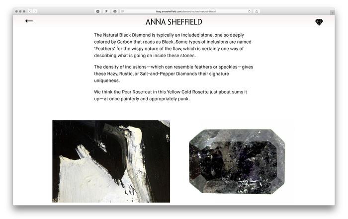 Anna Sheffield website and blog 5