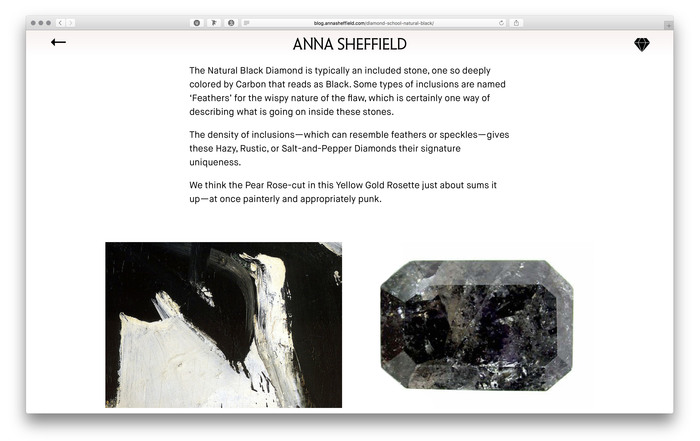 Anna Sheffield website and blog 5