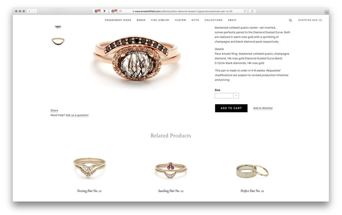Anna Sheffield website and blog 7