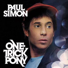 <cite>One-Trick Pony</cite> album art and movie poster