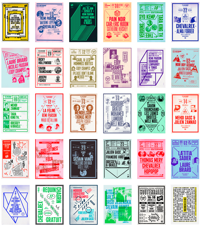 La Souterraine poster series 2