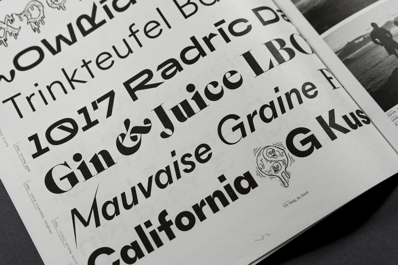 Type Life #1: Special Lab - Fonts In Use