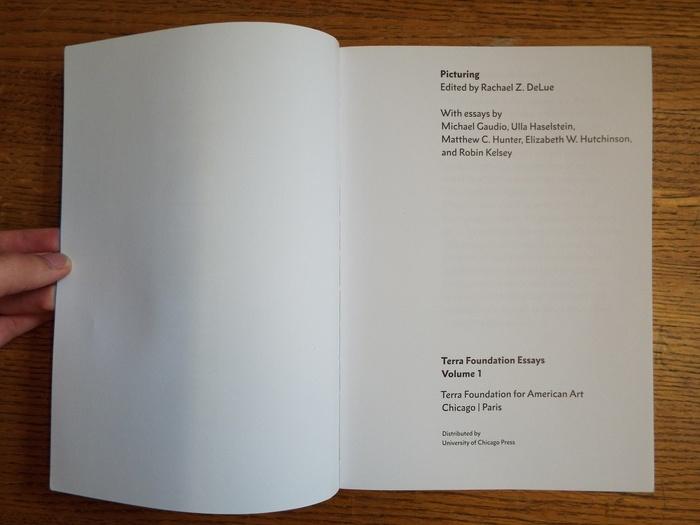 Terra Foundation Essays series 5