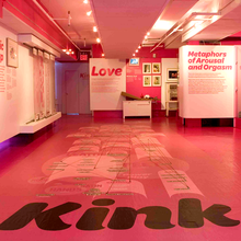 <cite>Kink: Geography of the Erotic Imagination</cite> exhibition at the Museum of Sex