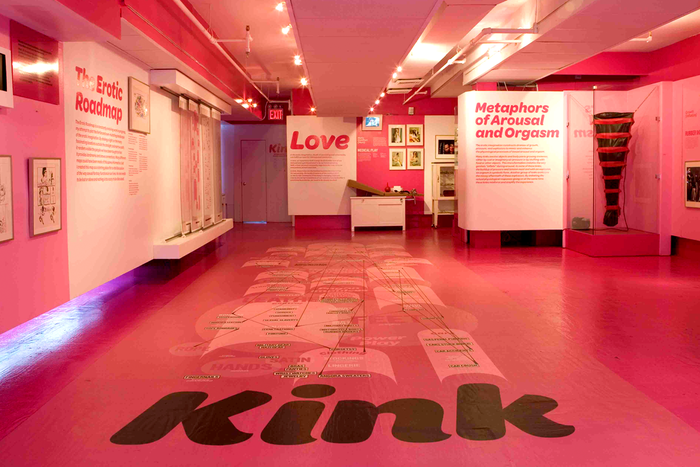 Kink: Geography of the Erotic Imagination exhibition at the Museum of Sex 1