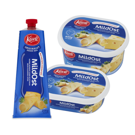 Kavli Soft Cheese packaging 1