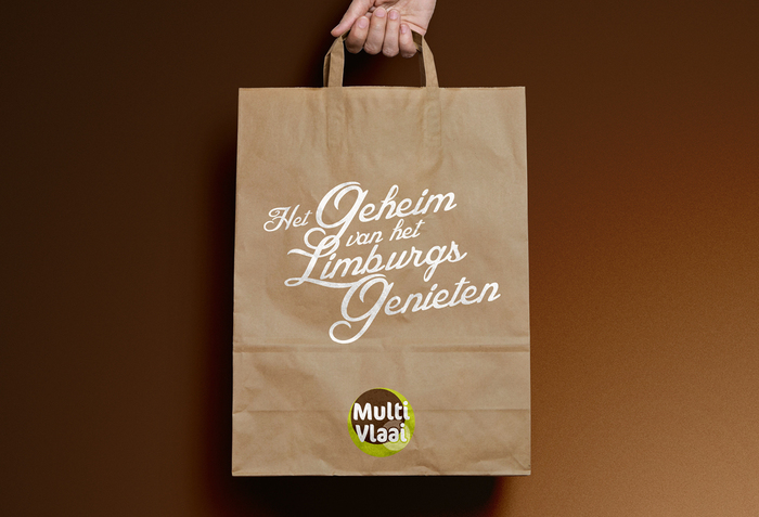 """The secret to enjoying the Limburg way"" — shopping bag"