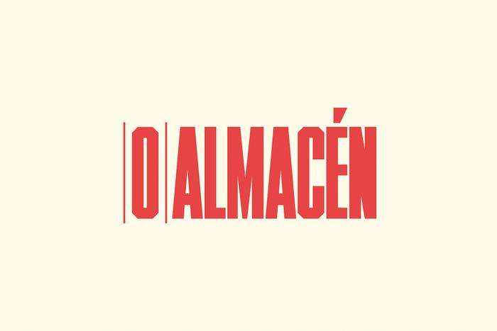 O'Almacén brand identity 2