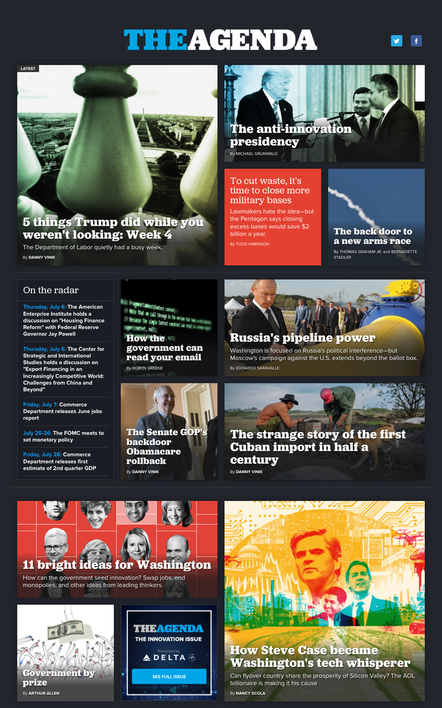 Politico website 7