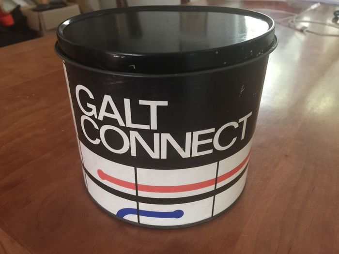 Galt Connect, game and packaging designed by Ken Garland & Associates in 1969.