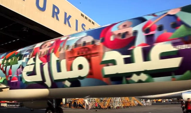 """Eid Mubarak"" special livery by Turkish Airlines 1"