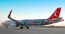 """Eid Mubarak"" special livery by Turkish Airlines"
