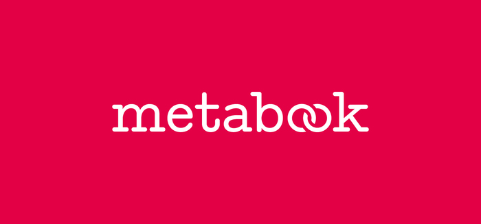 Metabook logo and identity 2