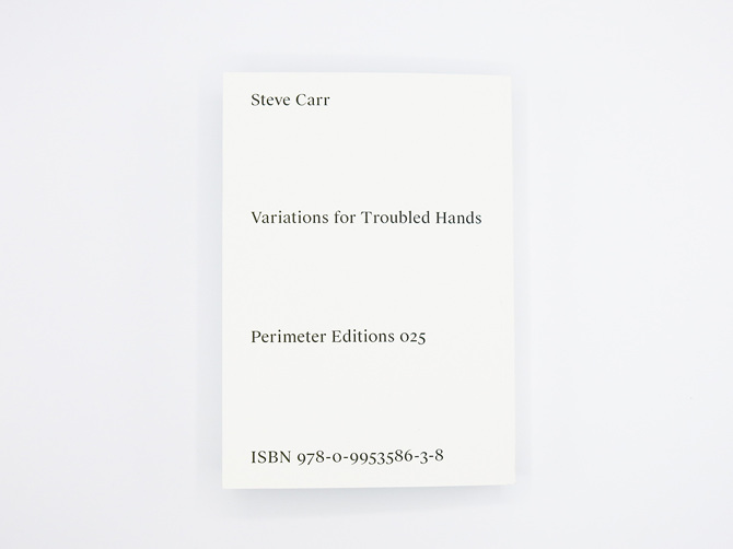 Variations for Troubled Hands by Steve Carr 9