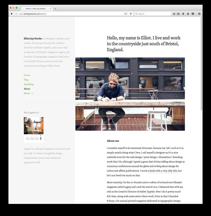 Blog of Elliot Jay Stocks 1