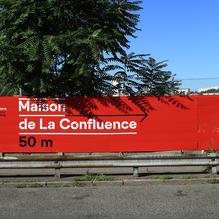 Lyon Confluence signage