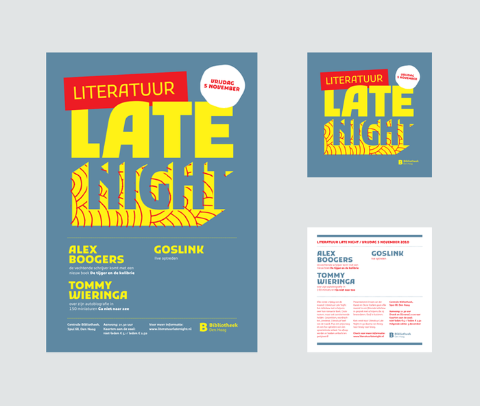 Literatuur Late Night 1